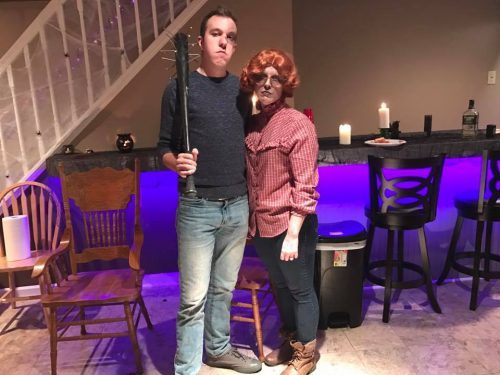 Steve and Dead Barb from Stranger Things