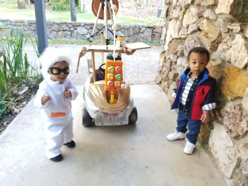 back to the future with doc brown & marty mcfly | halloween costume