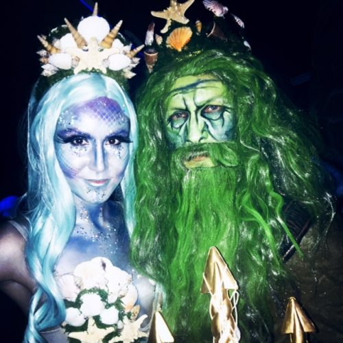 Toxic Mermaid and Poseidon