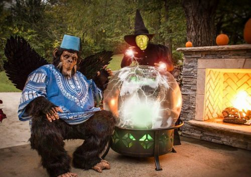Wizard of Oz Wicked Witch and Flying Monkey