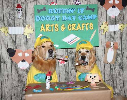 Phoenix and Gryphon as Arts and Crafts Campers