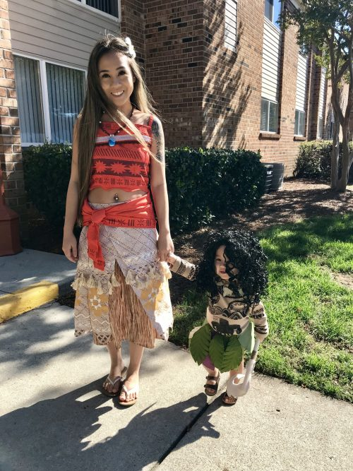 Mommy Moana and Baby Maui!
