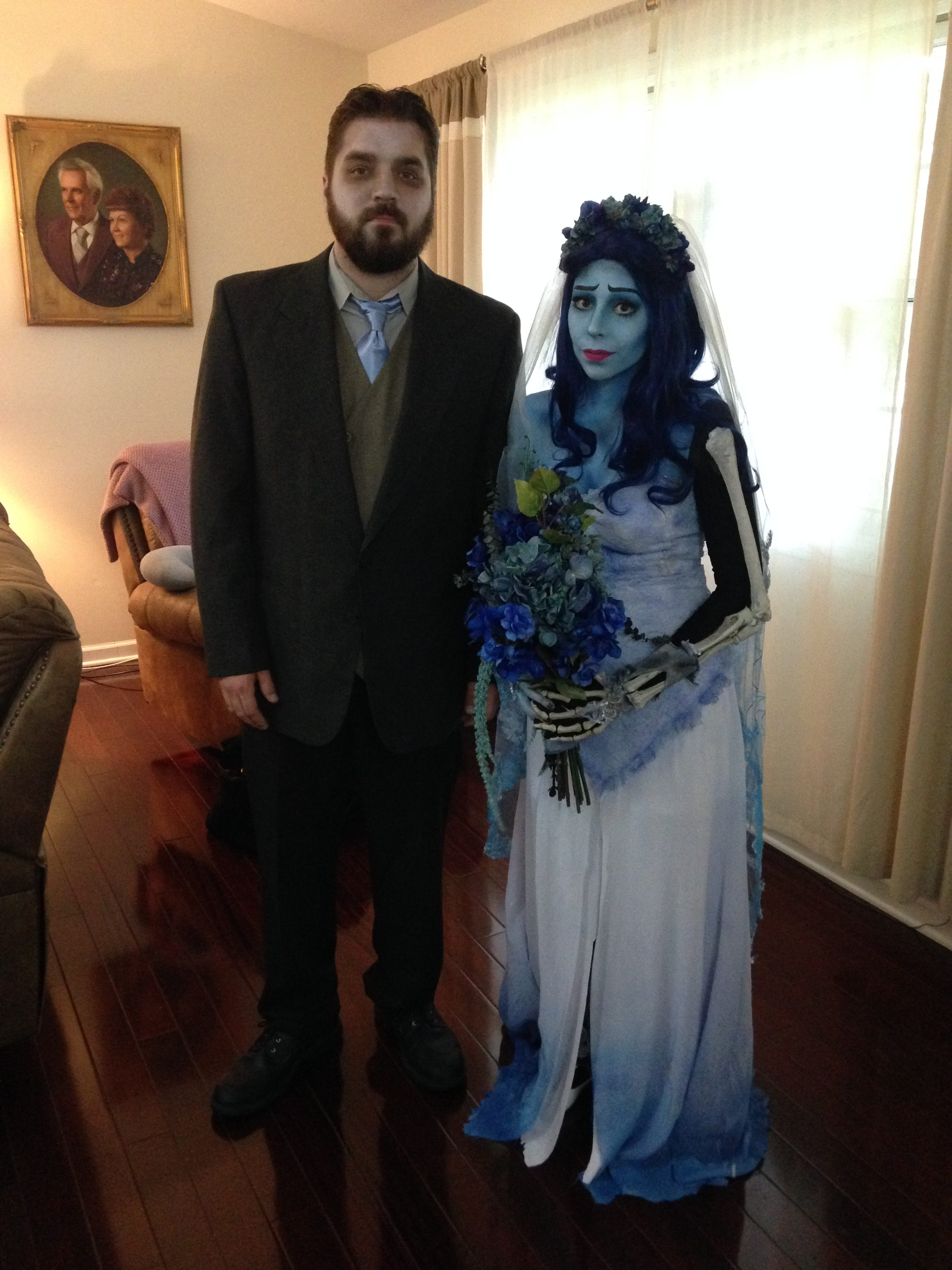Corpse Bride Victor and Emily  sc 1 st  Costume Wall & Couples | Halloween Costume Contest 2018