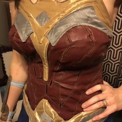 WonderWoman costume close