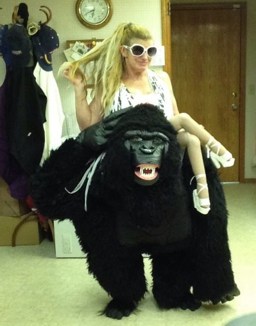 The Lady and Kong