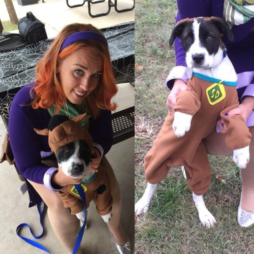 Scooby and Daphne