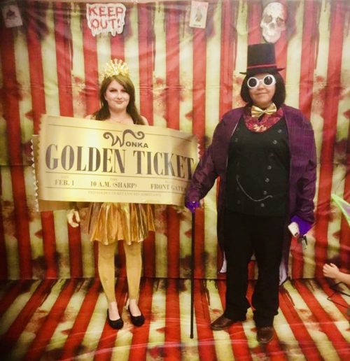 Willy Wonka and my Golden Ticket