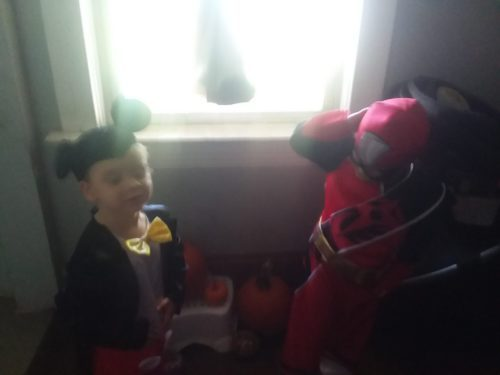 Mickey Mouse and Power ranger