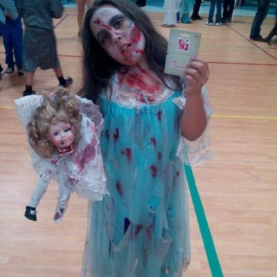 Zombie Little Girl