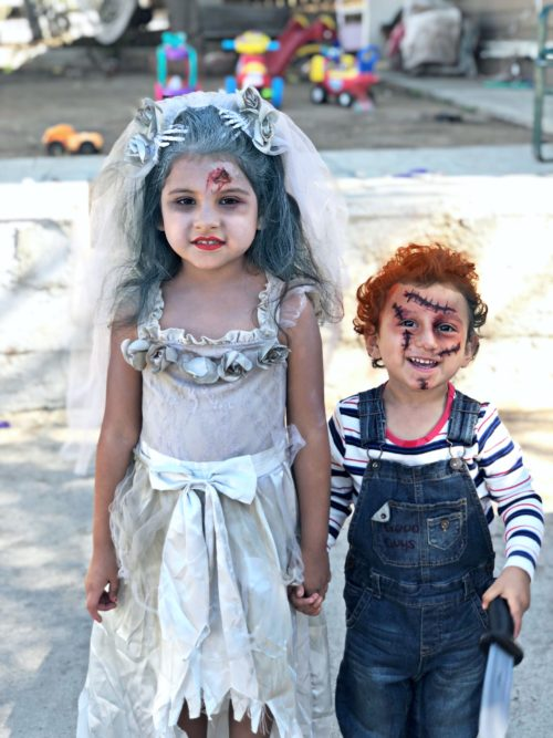 Zombie Bride and Chucky