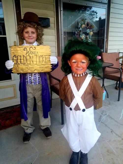 Willy Wonka & Oompa Loompa