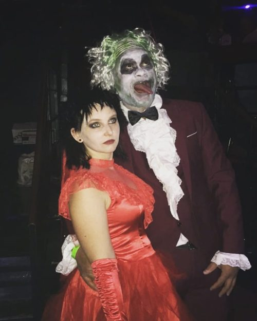 Beetlejuice & Lydia Deetz Wedding scene