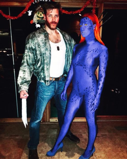 Wolverine and Mystique