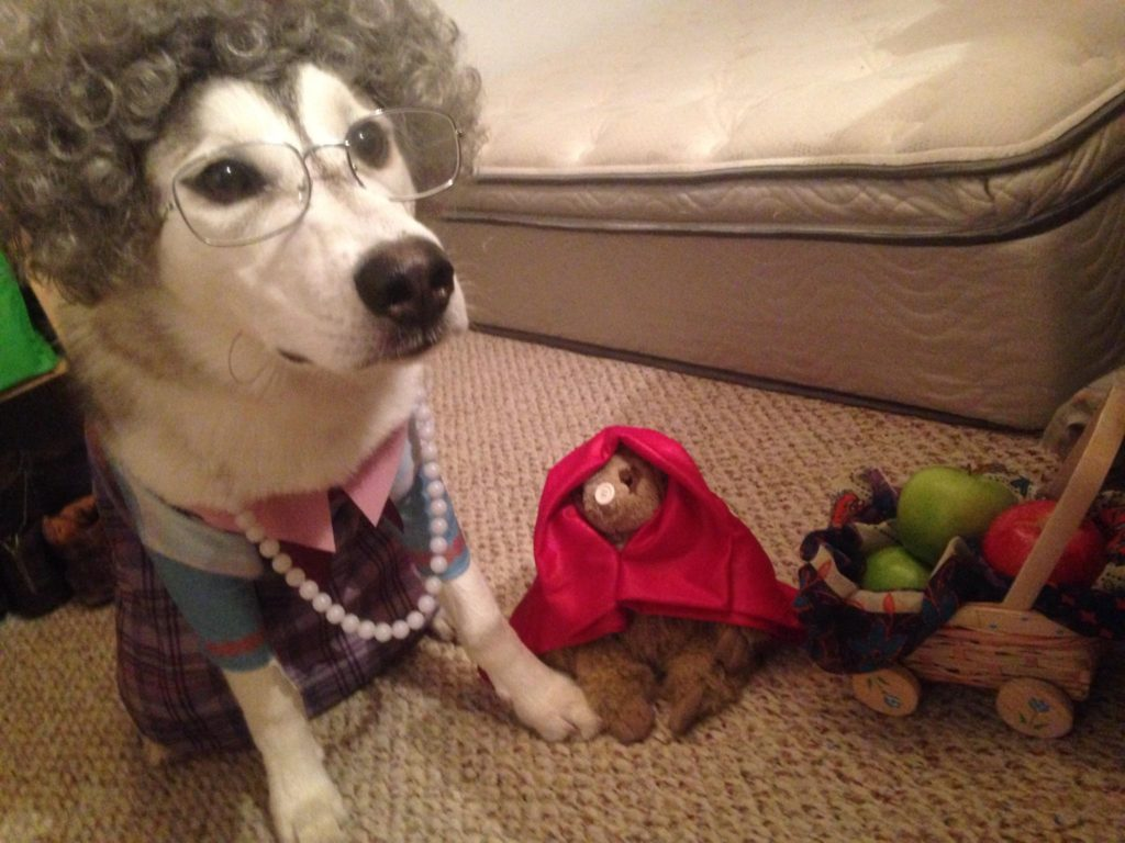 Little Sloth Red Riding Hood