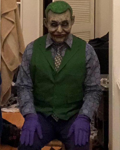 Joker Ventriloquist Doll