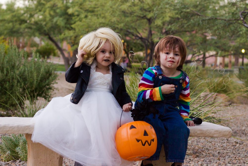chucky and the bride of chucky halloween costume contest 2018