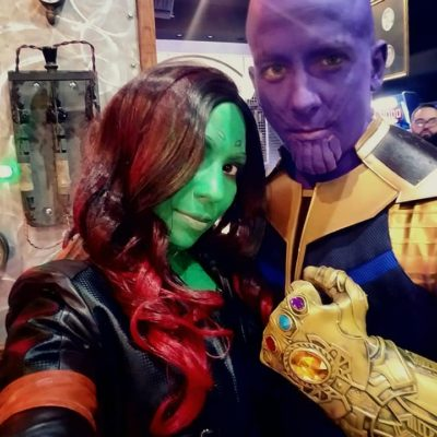 Halloween 2018 - Thanos & Gamora Closeup at Analog-3.jpg