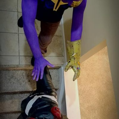 Halloween 2018 - Thanos Pushing Gamora-2.jpg