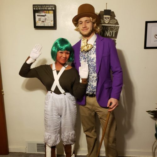 Willy Wonka and His Oompa Loompa