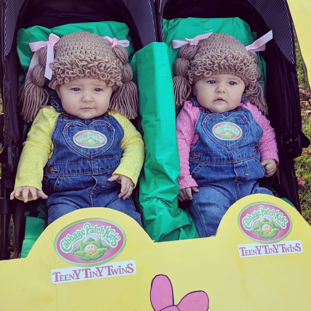 cabbage patch twins | halloween costume contest 2018