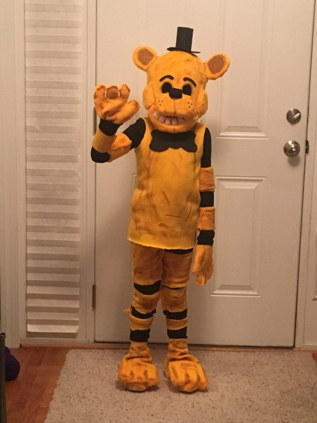 Golden Freddy Five Nights At Freddy S Halloween Costume Contest 2018