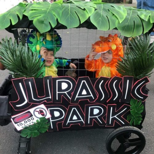 Twins Are a Walk in the Jurassic Park