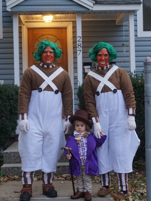 Willy and the Oompa Loompas