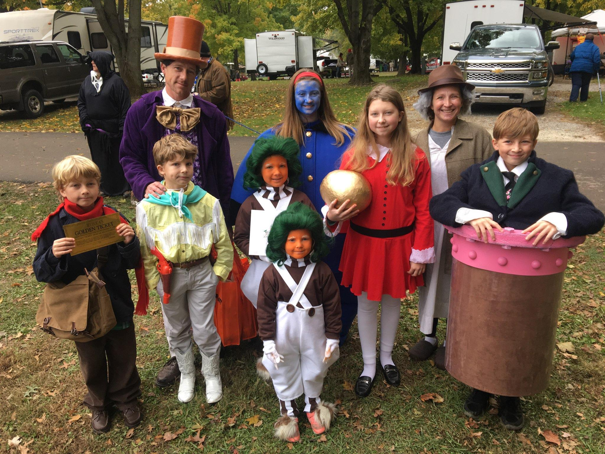 Willy Wonka And The Chocolate Factory Halloween Costume Contest