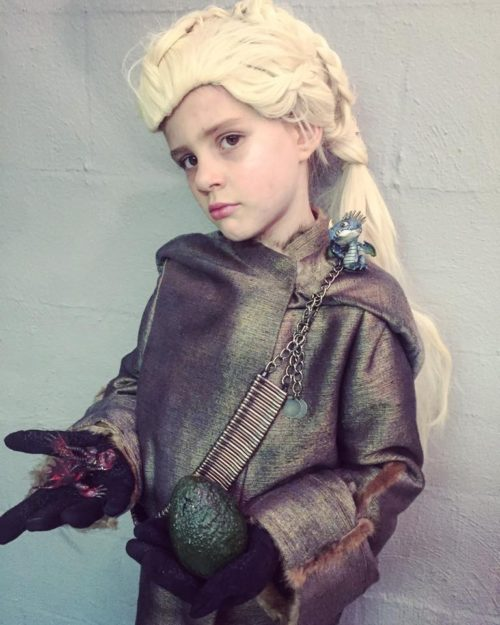 Daenerys Targaryen the Mother of Dragons