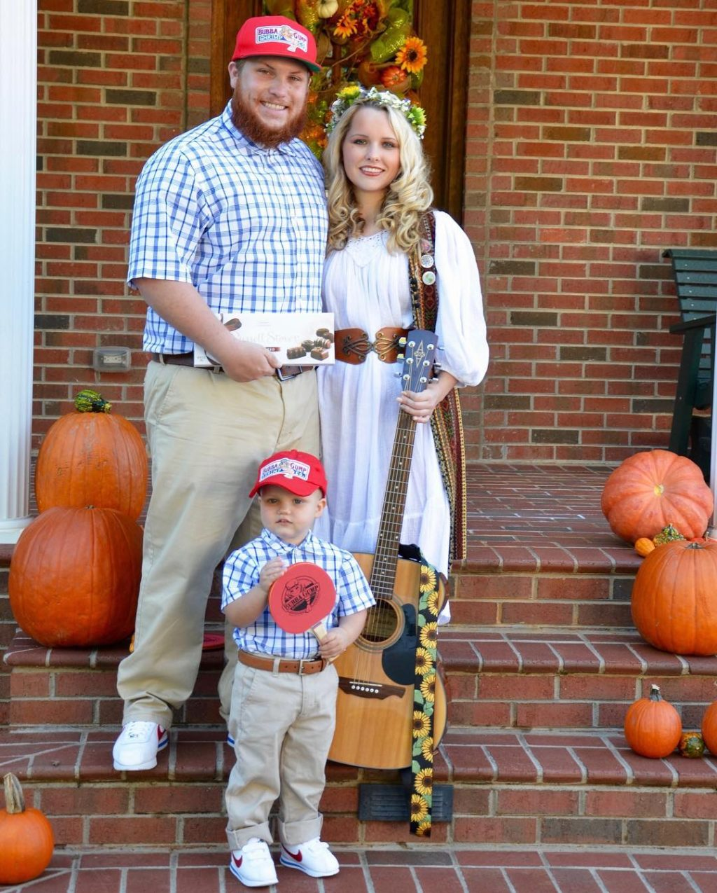 Forrest Gump, Jenny, and Little Forrest
