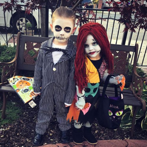 Jack Skellington and Sally