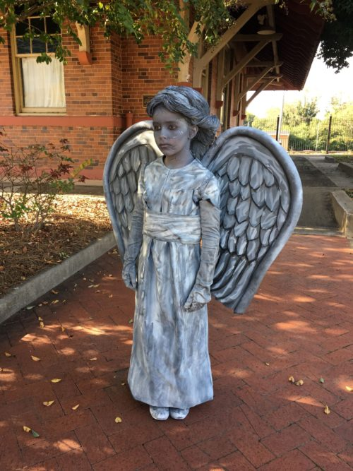 Concrete Angel (Weeping Angel)
