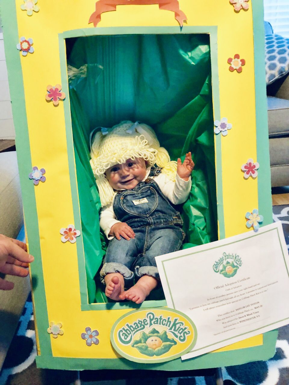 cabbage patch sailor | halloween costume contest 2018