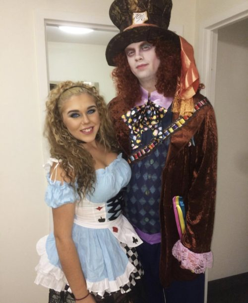 Alice and the Mad Hatter
