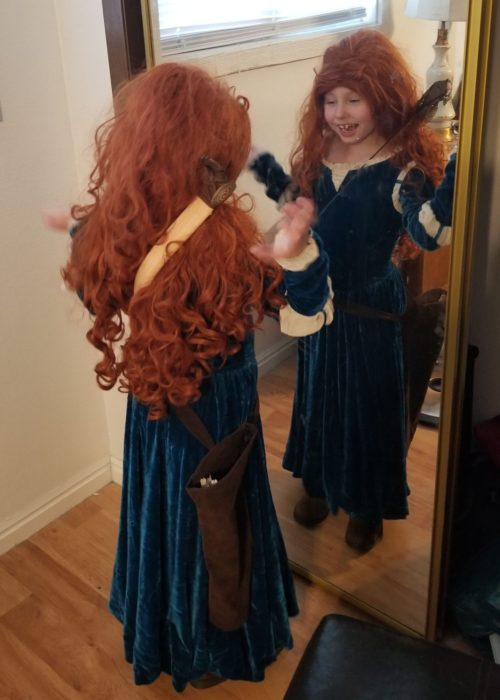 Merida from the movie Brave