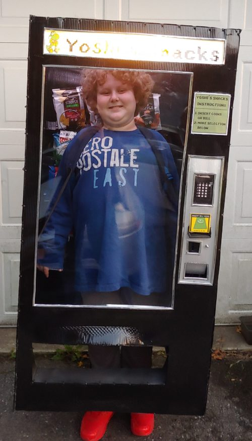 Kid Stuck in a Vending Machine