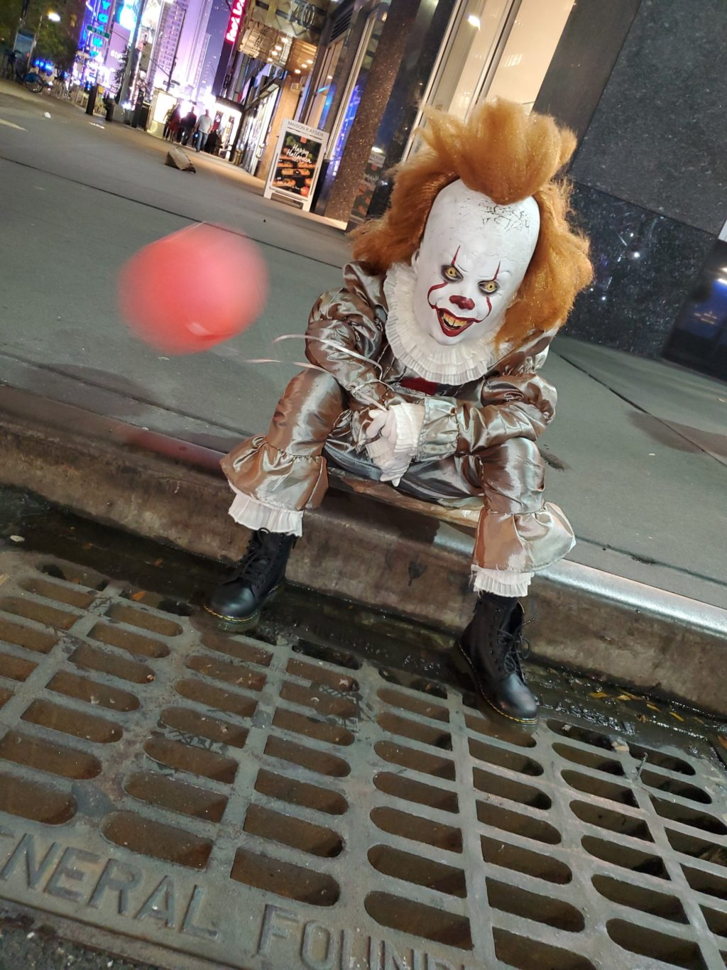 Pennywise Takes NYC!
