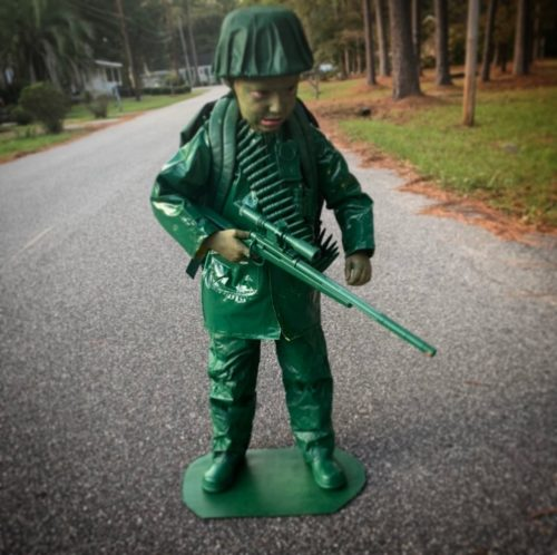 Green Army Man and his Tank