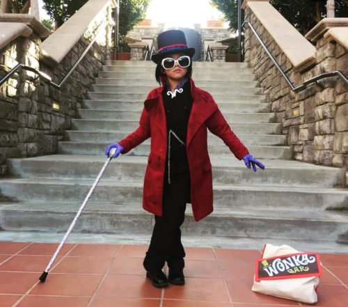 Willy wonka's Charlie and the Chocolate Factory