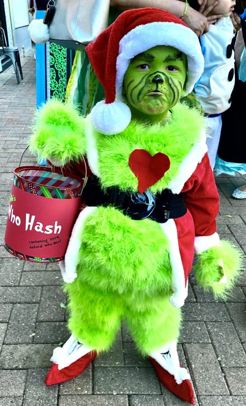 Mean Mr. Grinch