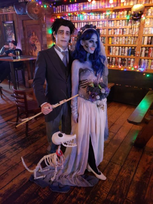 Corpse Bride and Scraps