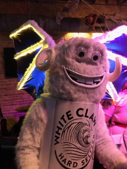 Ain't No Halloween Laws – White Claw Monster