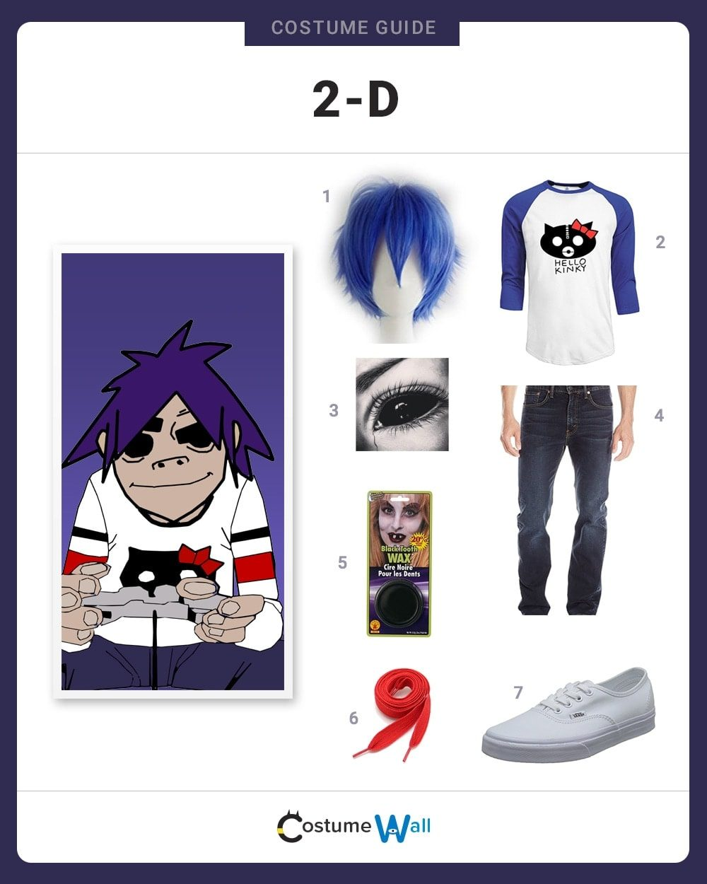 2-D Costume Guide