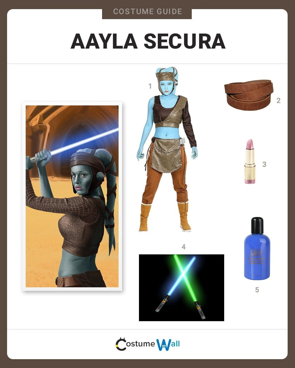 Dress Like Aayla Secura Costume Halloween And Cosplay Guides