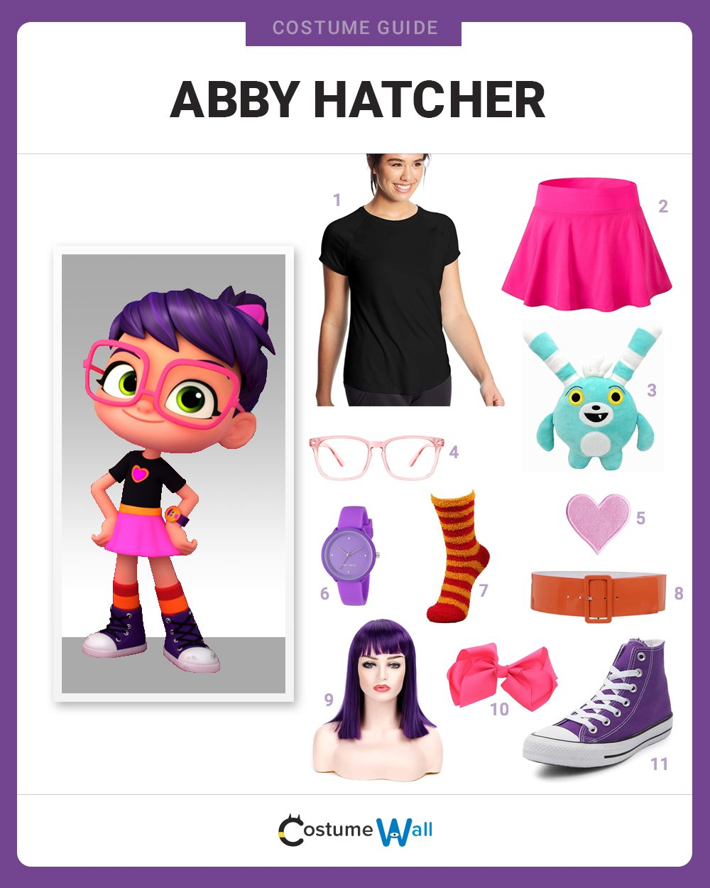 Abby Hatcher Costume Guide