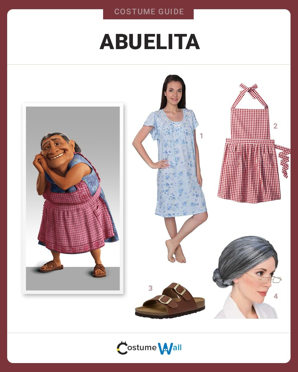 Abuelita Costume Guide