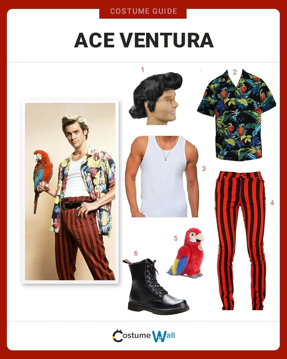 best ace ventura costume guide - Ace Ventura Halloween Costumes