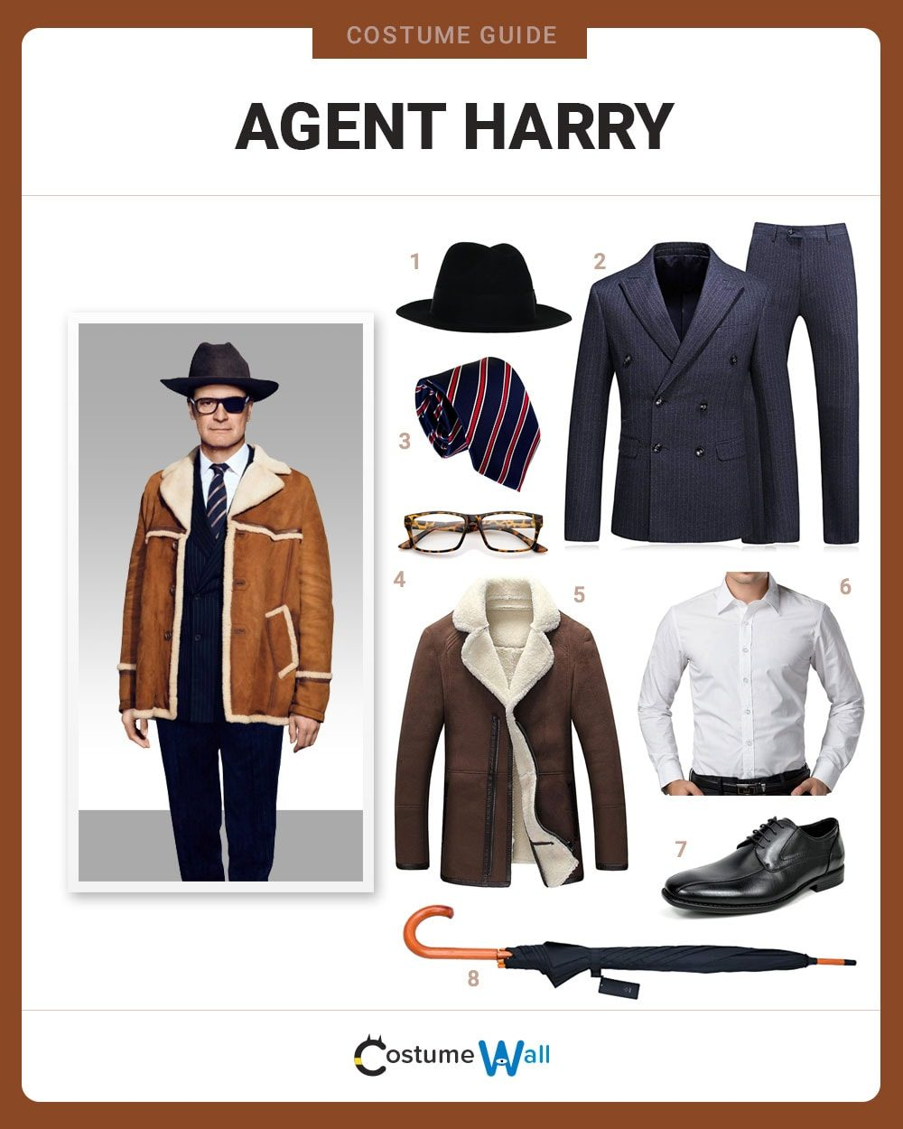 Agent Harry Hart Costume Guide