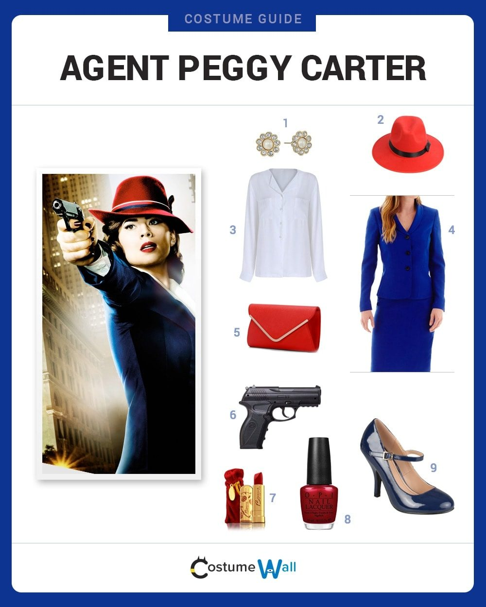 agent carter costume guide