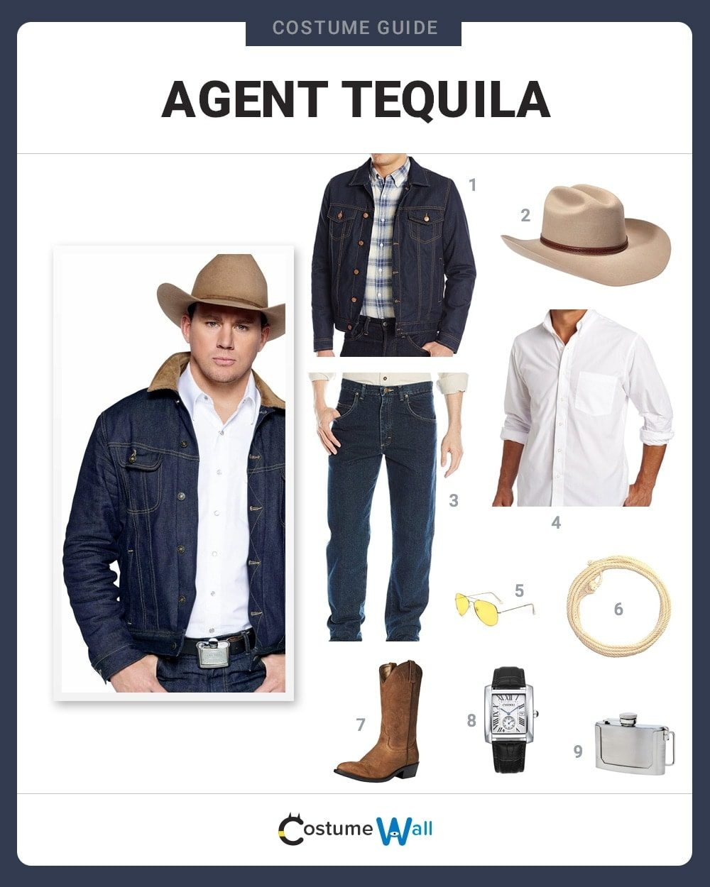 Agent Tequila Costume Guide